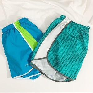 2 pair Champion Running Shorts Small